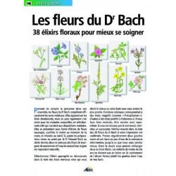 Le Mini guide des Fleurs de BACH - 38 Elixirs floraux pour mieux se soigner - AEDIS