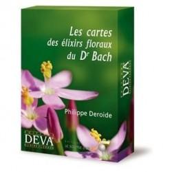 39 CARTES DES ELIXIRS FLORAUX DU DR BACH DE PHILIPPE DEROIDE - DEVA