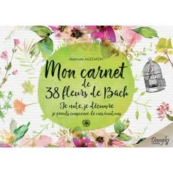 Mon carnet de 38 Fleurs de Bach
