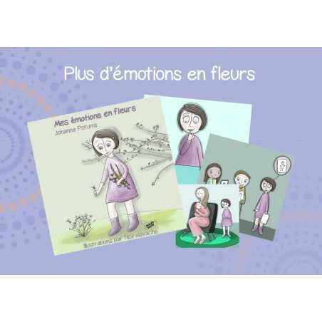 Cartes illustrées pour les enfants par Johanne Potums