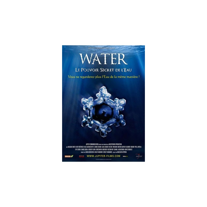 2 DVD Water, le Pouvoir secret de l'eau