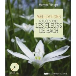 CD Méditations guidées avec les fleurs de Bach par Martine VINIGER