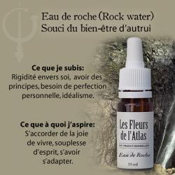 Rock Water (Eau de Roche) 10ML FLEURS DE L'ATLAS